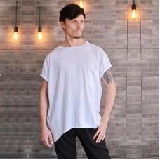 "Oblique T-shirt ""Oversize Long Gayd"" White"