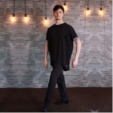 "Oblique T-shirt ""Oversize Long Gayd"" Black"