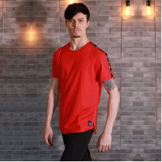 "Oblique T-shirt ""Power"" Red"