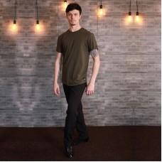 """Oblique T-shirt """"Power"""" Green"""