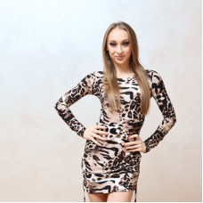 "Dress ""Vanessa"" Safari"